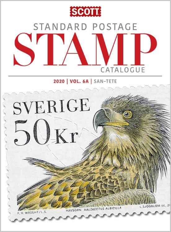 2020 Scott Standard Postage Stamp Catalogue – Volume 6 (San-Z)